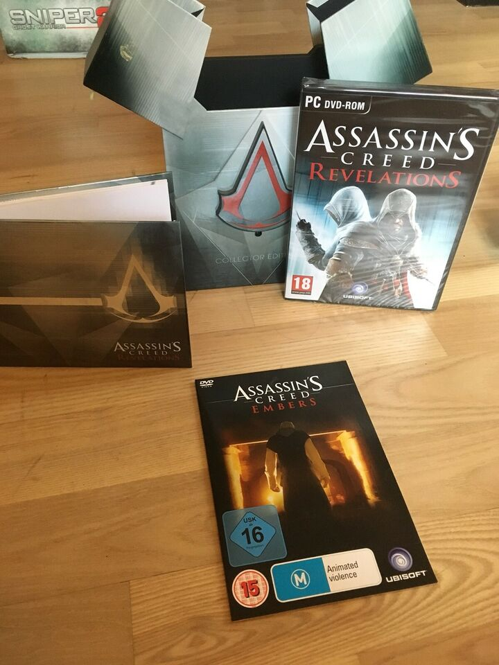 Assassins Creed Revelation Collectors Esition, til pc,