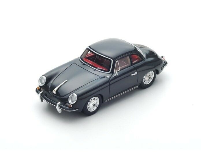Porsche 356 B Super hardtop coupe 1961 nero s4921 Spark 1 43 New in a box