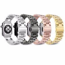 Correa de Metal para Apple Watch Serie 6 5 4 3 2 38-44mm Banda de Acero Inoxidable Iwatch