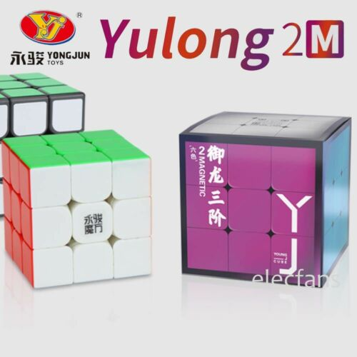 YuLong 2M 3x3x3 Magnetic Speed Contest Magic Cube Twist Puzzle Stickerless Toys