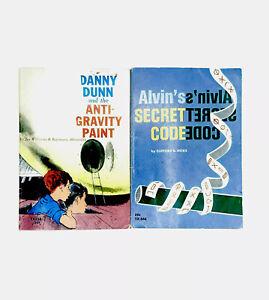 Danny Dunn and the Anti-Gravity Paint Alvins Secret Code Vintage Scholastic PB
