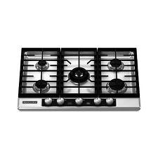 kitchenaid kgck366vss stainless steel 37 56 in gas gas cooktop ebay