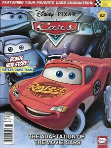 Disney-Pixar-Cars-Magazine-Rally-Race-Lightning-McQueen-Mater-Doc-Hudson-Harv