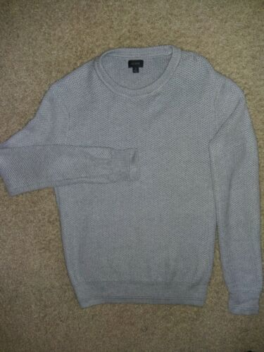 J. Crew Sweaters   J Crew Waffle Knit Sweater grey