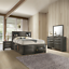 thumbnail 1 - NEW Gray Storage Queen King Bedroom Set Contemporary Modern Furniture Bed/D/M/N