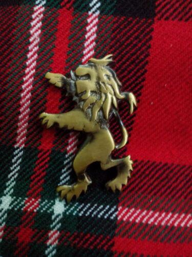 "Highland Kilt PIN TC nuova scozzese leone rampante Kilt PIN finitura antica 2 /"""