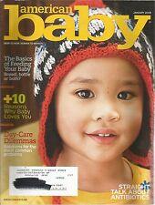 American Baby January 2008 Basics of Feeding Your Baby/Day-Care Dilemmas