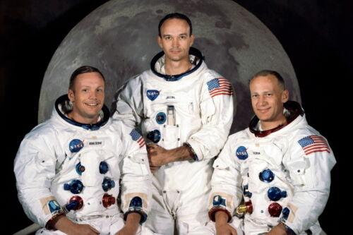 First Men on the Moon Apollo 11 Astronauts New 5x7 NASA Photo