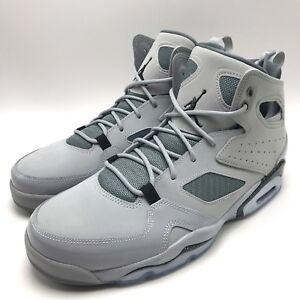 8766a0e25f8f Nike Jordan FLIGHT CLUB  91 Men s Basketball Wolf Grey   Black- Grey ...