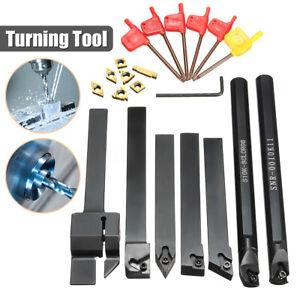 7 set 10x10mm tornos giratoria acero-conjunto de barra de perforación con soportes de fijación