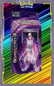 Deck-XY12-Evolutions-Melee-Mewtwo-Pokemon-Neuf