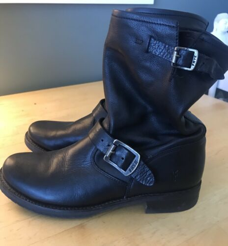 Frye Engineer Boots Size 8 Womens Mid Calf