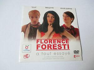 Florence-Foresti-a-tout-essaye-DVD-toupargel-pochette-cartonnee-neuf-scelle