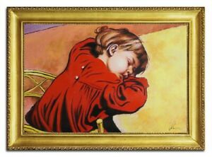 Oil-Painting-Pictures-Hand-Painted-with-Frame-Baroque-Art-96498