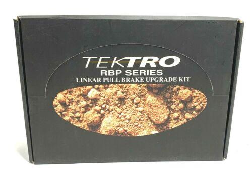 NEW OLD STOCK Tektro RBP Series V-Frein /& Levier complet avant et arrière Set Argent//Noir