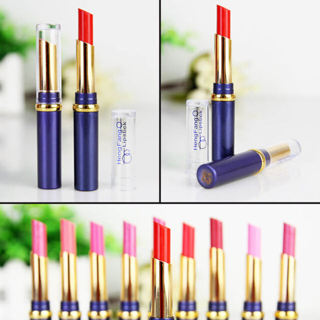 Chic 12 Nude Colors Cosmetic Makeup Lasting Bright Lipstick Lip Gloss Lip Rouge