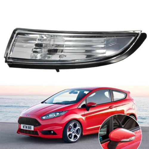 HOT Wing Mirror Indicator Light Lens Cover Ford Fiesta 08-14 Passenger Left Side