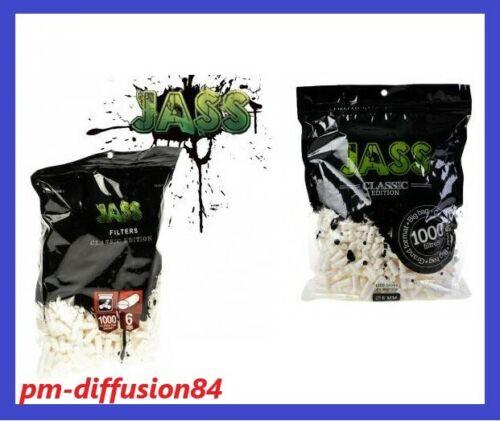 - JASS BIG BAG LOT de 5 SACHETS de 1000 FILTRES Mousse 5000 Filtres 6mm