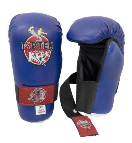 Top Ten Kids Generation XS Blue Sparring Teakwondo Kick Boxing Etc