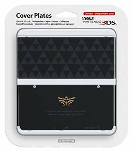 3DS-Kisekae-Cubierta-Placas-No-055-Leyenda-de-Zelda-Japon-Usado