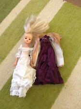 Vintage Blond Sindy Doll 033055X Plus Wedding Dress