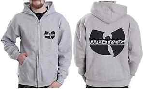 Men-039-s-Zip-Hoodie-S-5XL-WU-Wear-Style