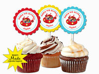 Little Einsteins Personalized Cupcake Toppers Birthday Party Favors Decoration