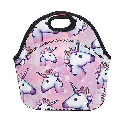 Kids Unicorn Lunch Bags Insulated Cool Lunch Bag Picnic Bags School Lunchbox Hot
