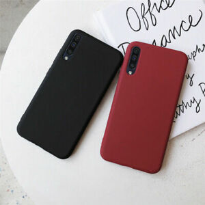 For-Samsung-Galaxy-S8-S9-Note-10-Plus-Slim-Soft-Matte-Silicone-Phone-Case-Cover