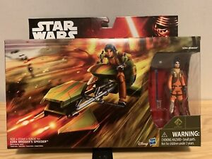 Star-Wars-Rebels-Ezra-Bridger-039-s-Speeder-with-3-75-034-Figure-amp-Accessory