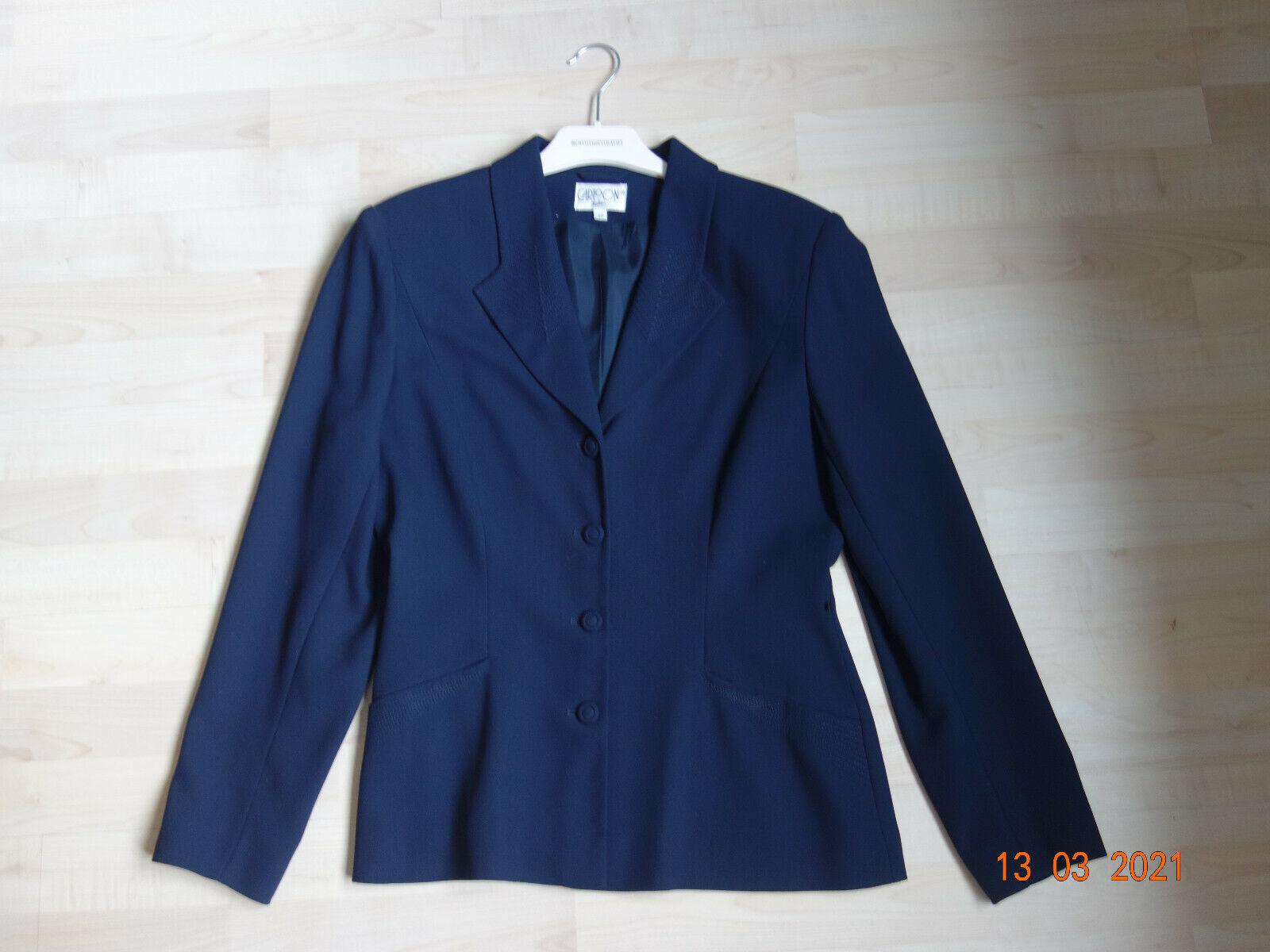 Blazer Dress Jacket Short Jacket Size 38 Blue Cartoon