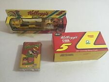 Terry Labonte Set Of 4 Metal Cards IN SEALED Tin 1996 + ALL METAL CARS (SEE PICS