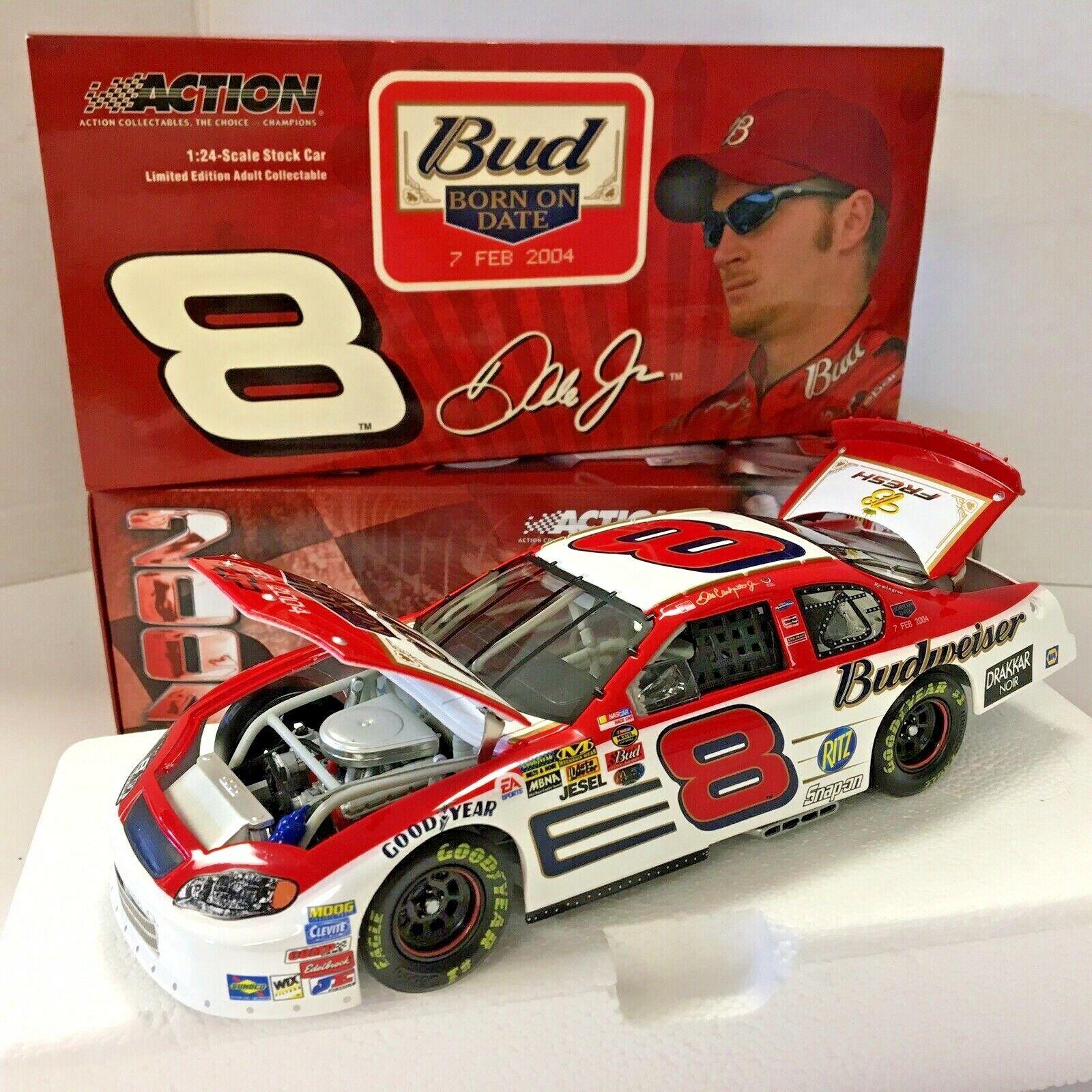 promociones MIB Dale Earnhardt Jr  8 8 8 Budweiser nacido en fecha 2004 MonteCochelo 1 24 Diecast  hasta 42% de descuento