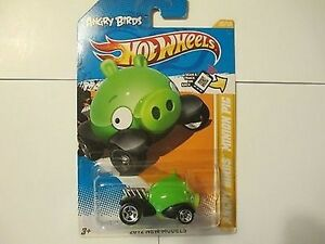 Hot-Wheels-Angry-Birds-Minion-Pig-Car-New-in-Package-NIB-2012-New-Models-35-247