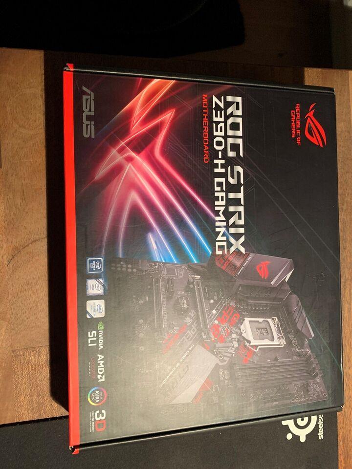 Bundkort, Asus, Rog Strix Z390-H Gaming