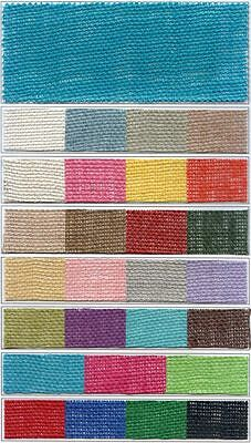 """Colored Burlap 48/"""" wide 8.5oz 105 Foot Roll"""