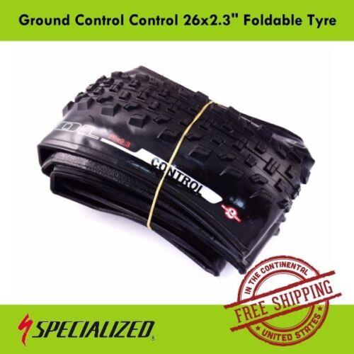 "Specialized Ground Control  Control 26x2.3/"" Tire Foldable Bike Tyre MTB"