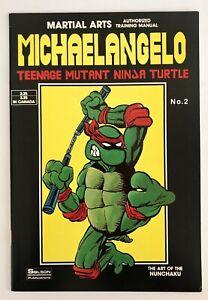 Teenage-Mutant-Ninja-Turtles-Michaelangelo-Martial-Arts-Training-Manual-Vintage
