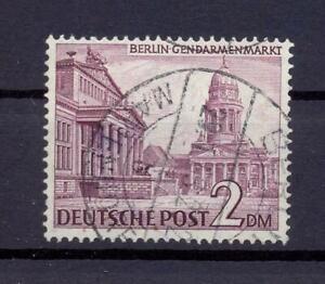 Berlin-58-x-2-Mark-Bauten-Fallendes-Wz-gestempelt-geprueft-HD-Schlegel-bs265