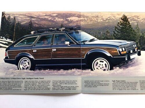 AMC American Motors 1985 Eagle 12-page Original Car Sales Brochure Catalog