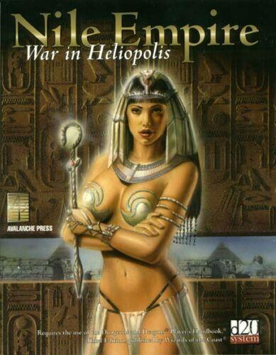 War in Heliopolis APL 0911 Source Book D/&D RPG D20 Nile Empire