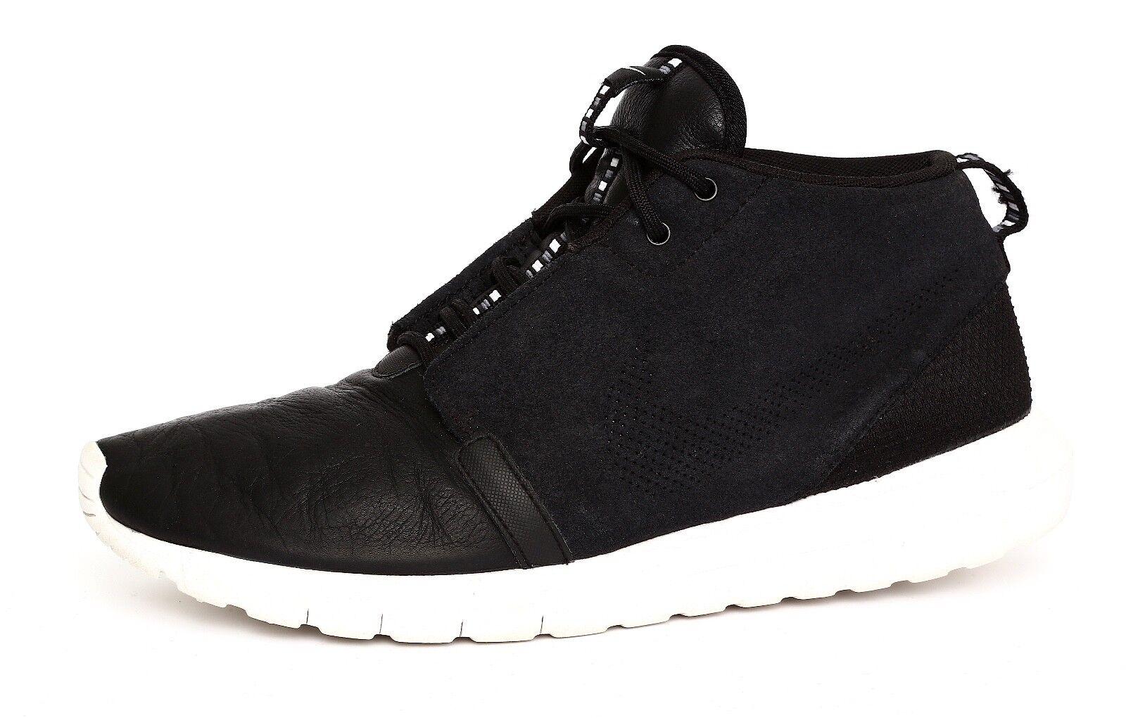 new style cc8f1 98dcf Nike Roshe Men s Black Sneaker Boot Sz Sz Sz 9 1619 3c9596