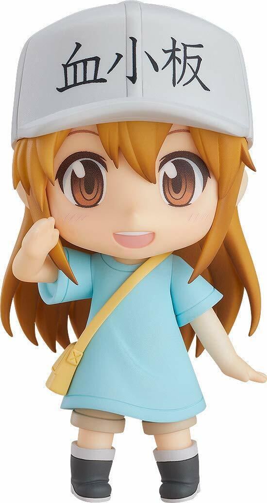 Nendoroid celle al lavoro  piastrinica Good Smile azienda Giappone