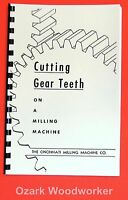 How To Cut Gear Teeth On Mill Rack, Spur, Bevel, Helical, Worm Manual Book 1041