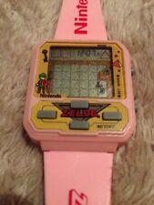 PINK ZELDA NELSONIC Game Watch, MINT, Working W/BATTERIES