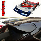 Black Painted Rear Trunk lip Spoiler Top Wing for Ford New Focus Hatchback 12-16