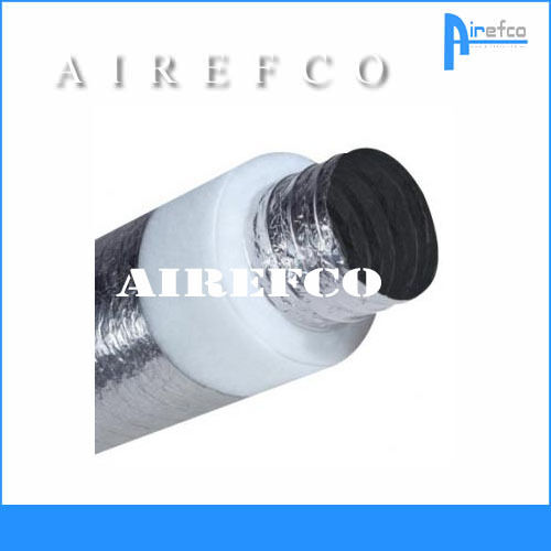 "R 1.0 -  10"" / 250mm Flexible insulated Fan Duct -Ducting - Flex"