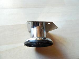 Gambe Tavolo Mobili Piedi rettangolare 42x5 L 50 mm CROMO  </span>