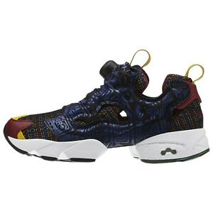 99a257e4eb3be5 Women s Instapump Fury African Pack   AR1706   Reebok Black White ...