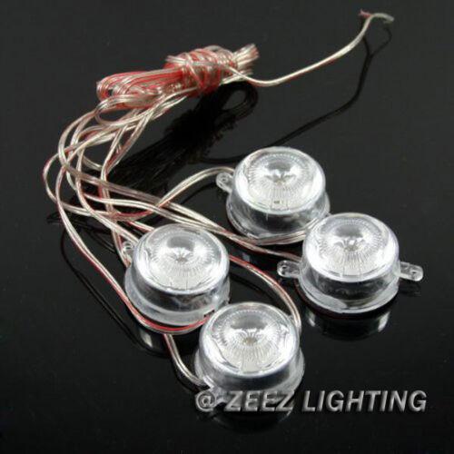 Brabus Style 40-LED Undercar Under Car Glow Puddle Light Ground Effect Kit C01